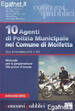 Agenti di polizia municipale nel comune di Molfetta