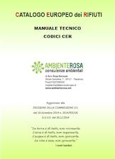 Manuale tecnico codici CER