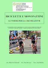 Biciclette e monopattini le regole di circolazione
