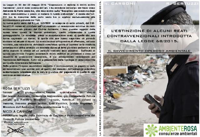 ambiente rosa consulenze ambientali la estinzione di alcuni reati contravvenzionali introdotta dalla legge 68/2015