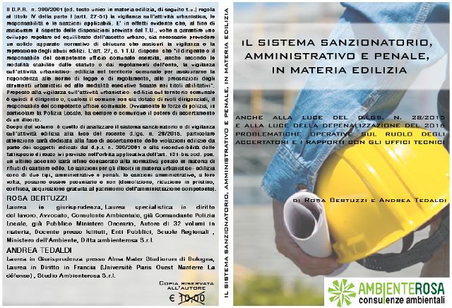 ambiente rosa consulenze ambientali il sistema sanzionatorio amministrativo e penale in materia edilizia